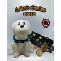 Collier anti tiques naturel pour chien