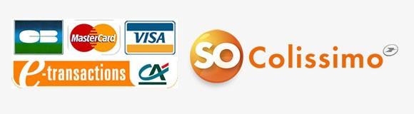 Paiement Sécurisé e-transactions et envoi So Colissimo